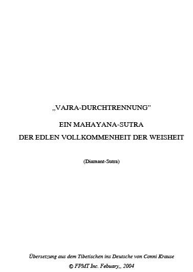 Vajracutter German